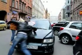 orosz, oroszország, parkolás, videó