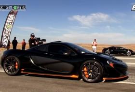 bugatti veyron, gyorsulás, gyorsulási verseny, mclaren p1, új mclaren, videó