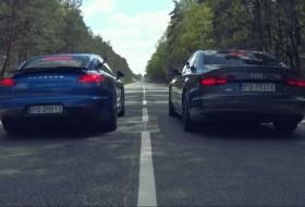 audi s8, gyorsulás, gyorsulási verseny, panamera, s8 plus, top gear, turbo, új porsche, videó