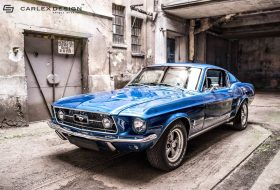 a nap képe, carlex design, ford mustang, restomod, shelby, tuning