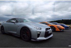 570s, audi r8, gyorsulási verseny, mclaren, nissan gt-r, porsche 911, videó