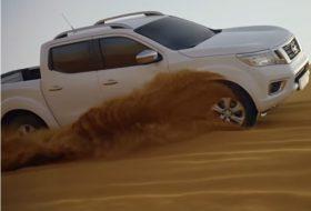 arab, közel-kelet, pickup, új navara, új nissan, videó