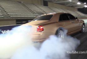 arab, ghost, gyorsulási verseny, új rolls-royce, videó