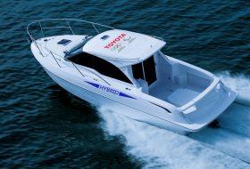elektromos, hibrid, speedboat, toyota