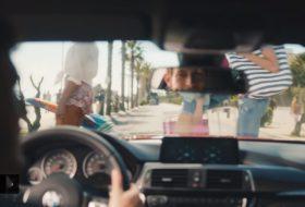 bmw, m4 coupe, reklám, vicces, videó