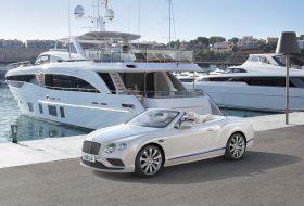 bentley, continental gt, galene edition, jacht, mulliner