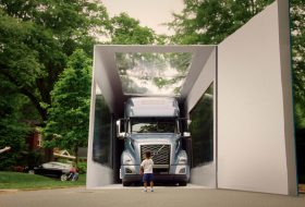 guinness rekord, kamion, új volvo, videó