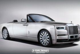 a nap képe, drophead coupé, kabrió, luxusautó, új rolls-royce, x-tomi