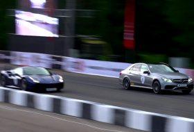 e63 amg, ferrari 488 gtb, gyorsulási verseny, mercedes-amg, r8 v10 plus, új audi r8, videó
