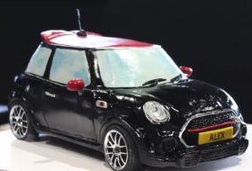 egyedi autó, mini cooper, új mini, vicces, videó