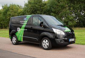 elektromos, ford transit, hibrid, london, phev, plug-in hibrid, transit custom