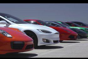 911 turbo s, amerika, amg gt r, aston martin ár, camaro zl1 1le, ferrari 488 gtb, gt-r nismo, gyorsulási verseny, p100d, porsche 718, tesla model s, új alfa romeo, új corvette, új lexus, új mclaren