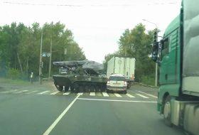 baleset, katonaság, oroszország, skoda, videó, yeti