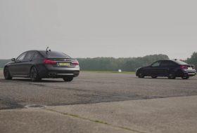 bmw m3, gyorsulási verseny, m performance, m760Li, új bmw, videó