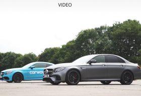 c63, e63 amg, gyorsulási verseny, mercedes-amg, videó