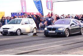 bmw 3-as, dízel, gyorsulási verseny, lupo, videó, volkswagen