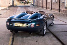 a nap képe, egyedi autó, jaguar, replika, xk180, xkr