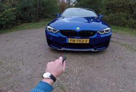 autós videó, bmw m4 cs, gyorshajtás, új bmw