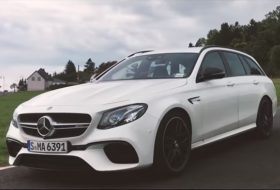 autós videó, e63 amg, körrekord, mercedes-amg, nürburgring