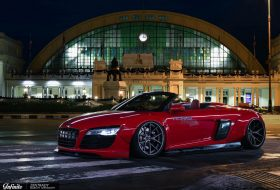 a nap képe, audi r8, liberty walk, pur wheels, tuning
