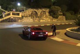 360 modena, autós videó, drift, ferrari, gyorsulás, monaco