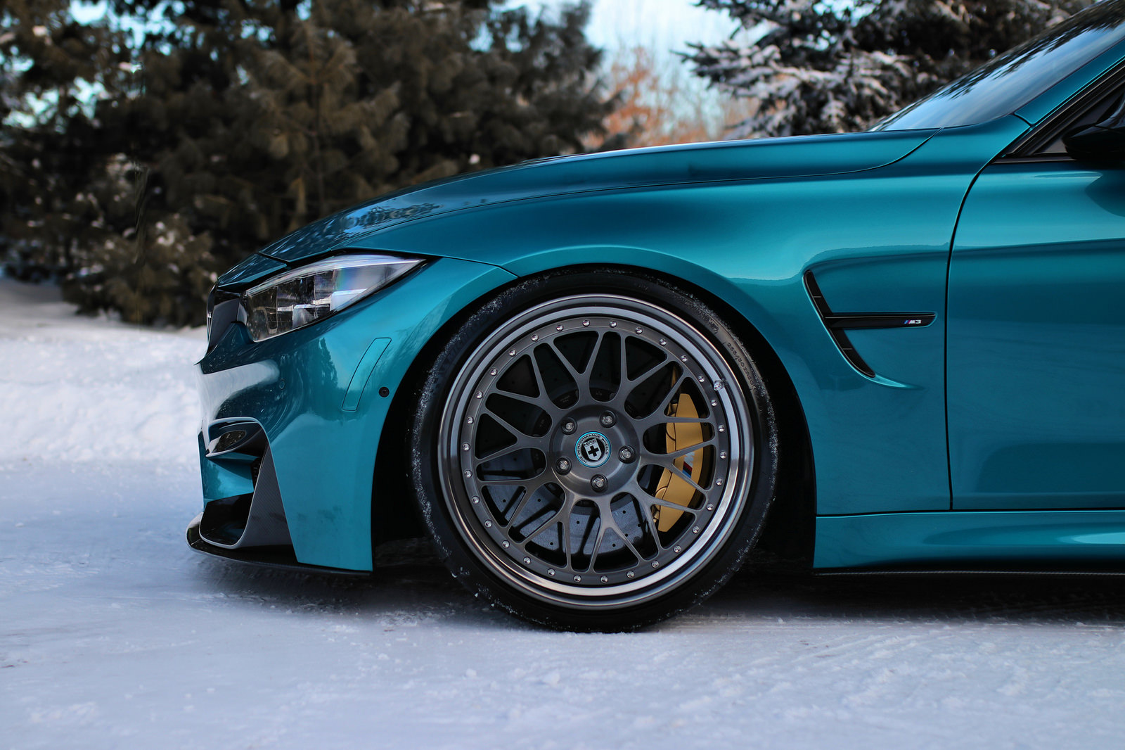 Atlantis Blue BMW M3