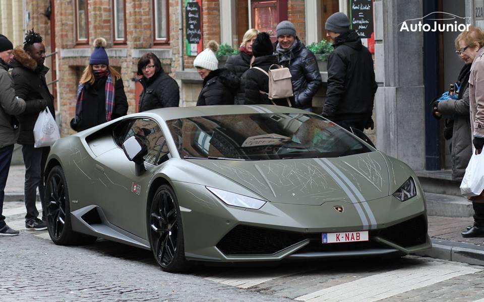 Lamborghini Huracán Avio rongálás