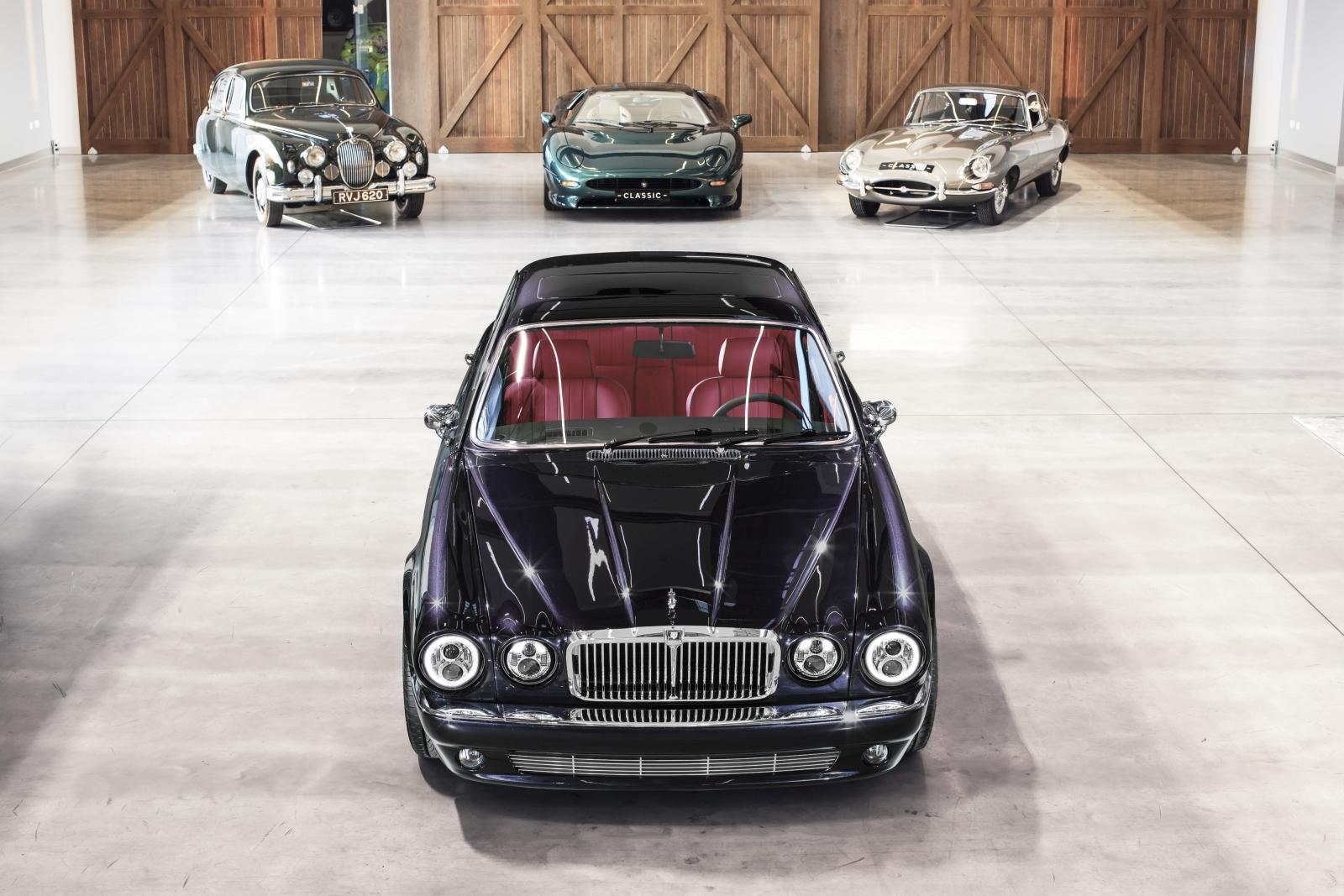 Jaguar XJ6 restomod