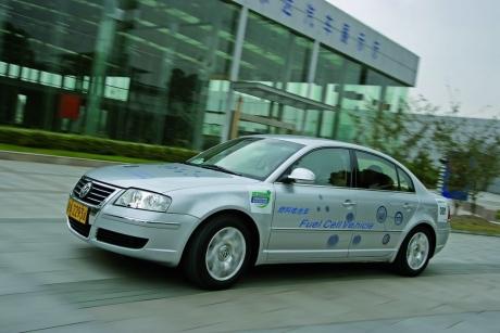 Hidrogénes Volkswagenek előkészületben
