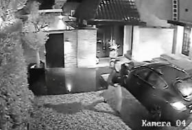 lopás, porsche, videó