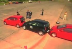 mini, parkolás, up!, világrekord, volkswagen