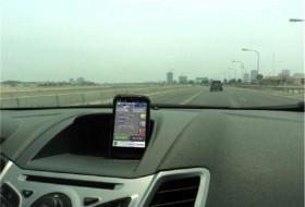 autó, autóvezetés, okostelefon