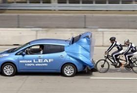 a nap képe, kerékpár, leaf, nissan, tandem, világcsúcs, világrekord