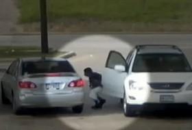 benzinkút, tolvaj, videó