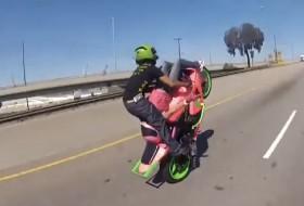 a nap képe, motorkerékpár
