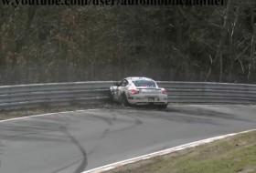 nürburgring, töréskár, videó