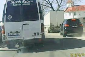 baleset, cayenne, porsche, videó