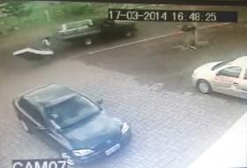baleset, bicikli, videó