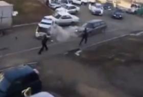 orosz, oroszország, outback, rendőrség, subaru, videó