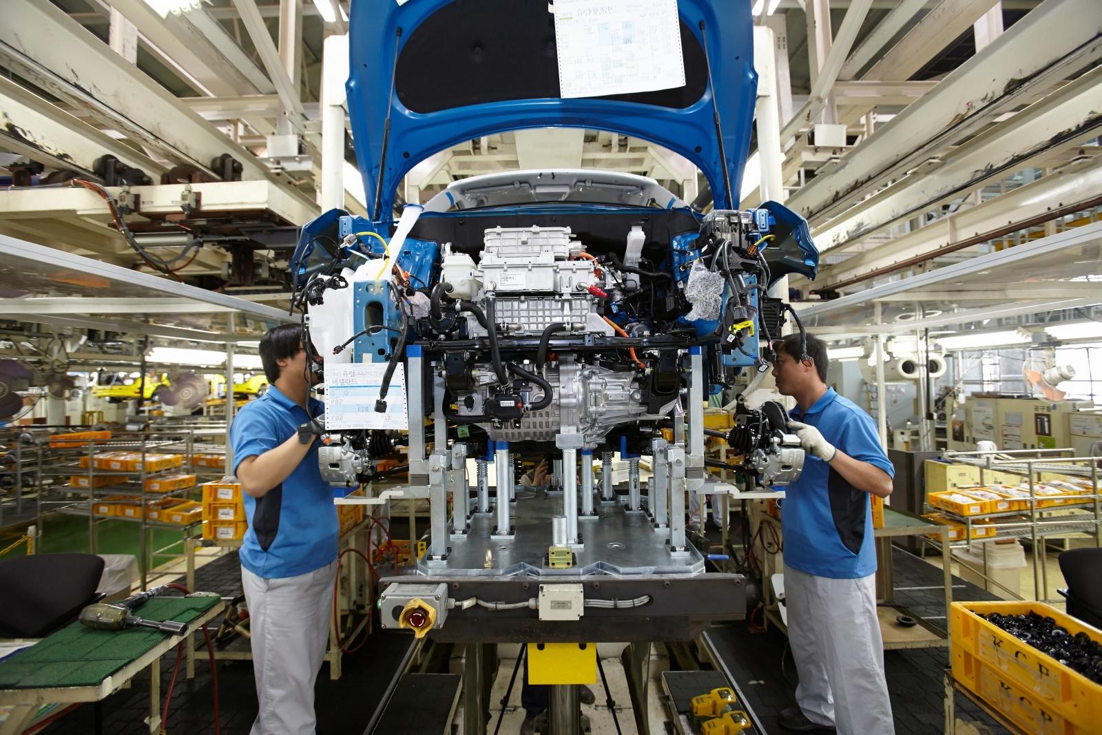 Megkezdődött a Kia Soul EV sorozatgyártása