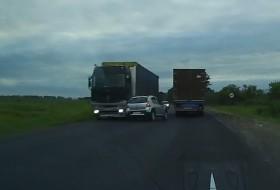 dacia, kamion, sandero, videó