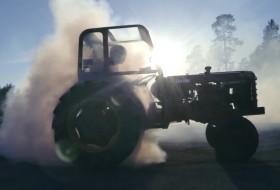 drift, traktor, volvo
