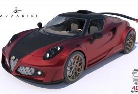 4c, alfa romeo, ferrari, lazzarini design, tuning, V8