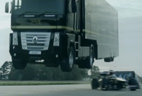 kamion, rekord, ugratás, videó