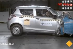 datsun, global ncap, suzuki swift, törésteszt, videó