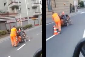 olaszország, útfelújítás, videó