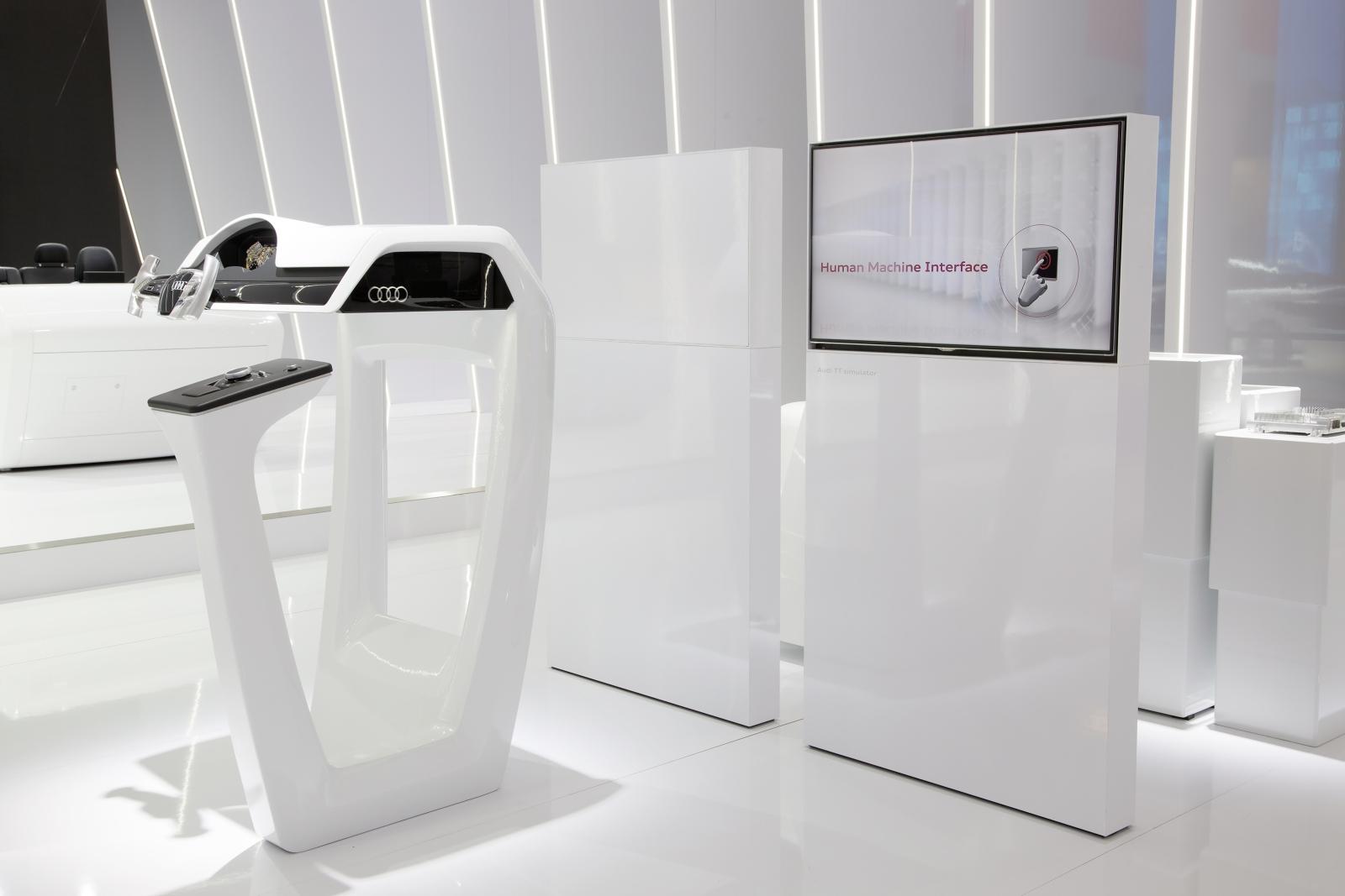 Az Audi a 2015-ös CES kiállításon