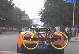 a nap képe, gallardo, kerékpár, lamborghini, videó