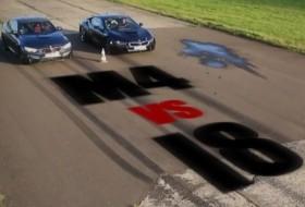 bmw, gyorsulási verseny, i8, m4 coupe, videó