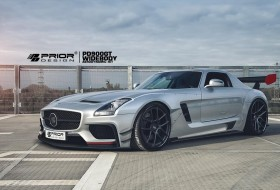 amg gt, mercedes, prior design, sls amg, tuning
